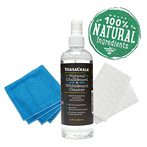 VersaChalk 100% Natural Chalkboard Cleaner Spray  Eraser Kit
