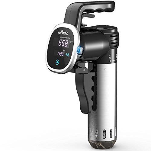 Wancle Sous Vide Precision Cooker, Thermal Immersion Circulator, with