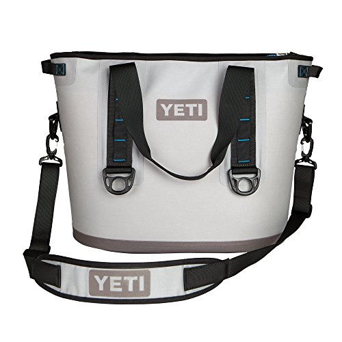 YETI Hopper 30 Portable Cooler Fog Gray / Tahoe