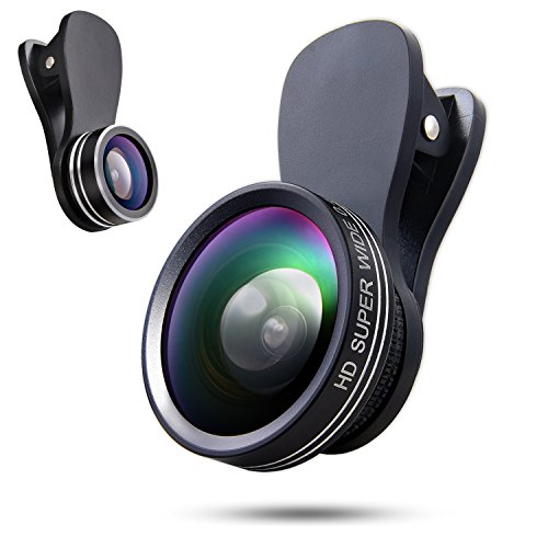 Phone Camera Lens 3 In 1 Kit, 180 Degree
