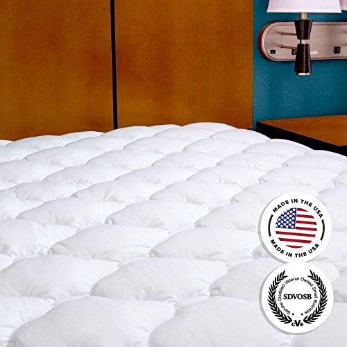 Mattress Pad with Fitted Skirt - Extra Plush Mattress