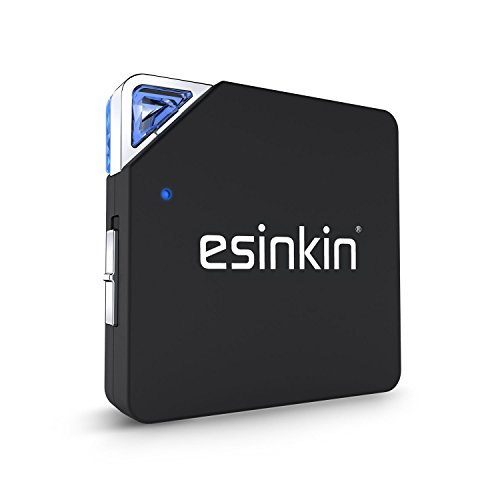 Esinkin Bluetooth Transmitter Receiver 2 in 1 Wireless 3.5mm