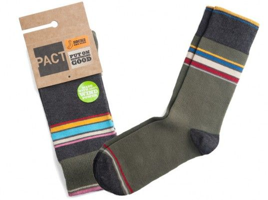 *HOT* Free Pair PACT Organic Cotton Socks