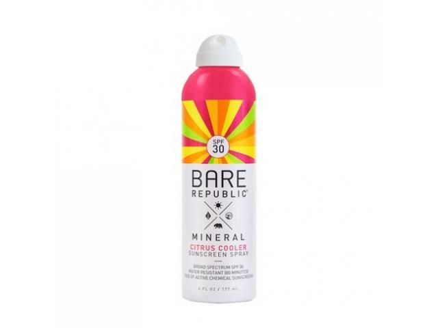 Free Sport Sunscreen Spray By Bare Republic!
