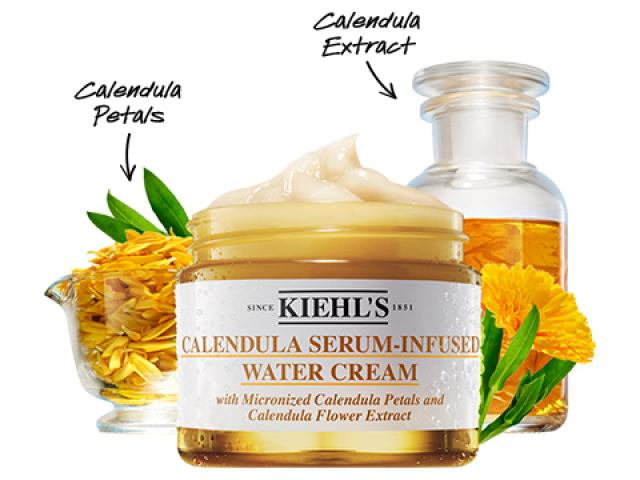 Free Calendula Serum-Infused Water Cream By Kiehl's!