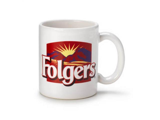 Get A Free Folgers Coffee Mug Or Folgers Coffee!
