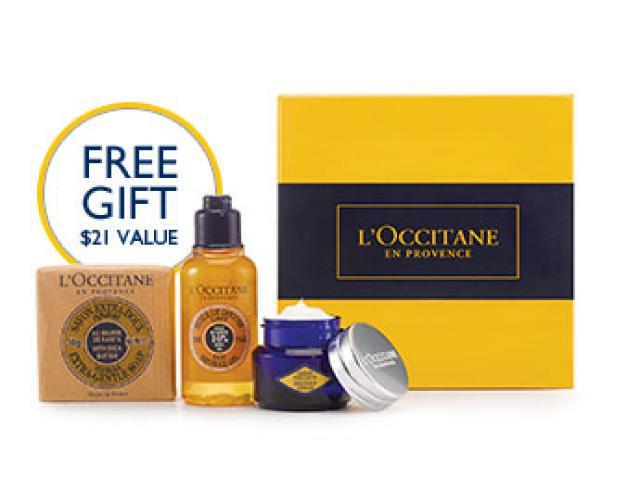 Get A Free L'Occitane Gift Box!