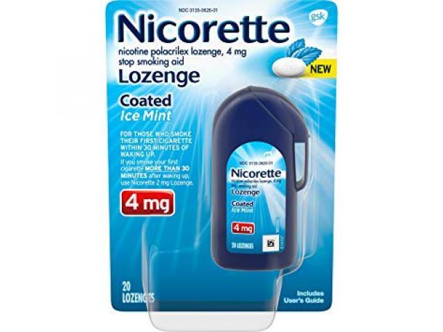 Free Coated Ice Mint Lozenge From Nicorette!