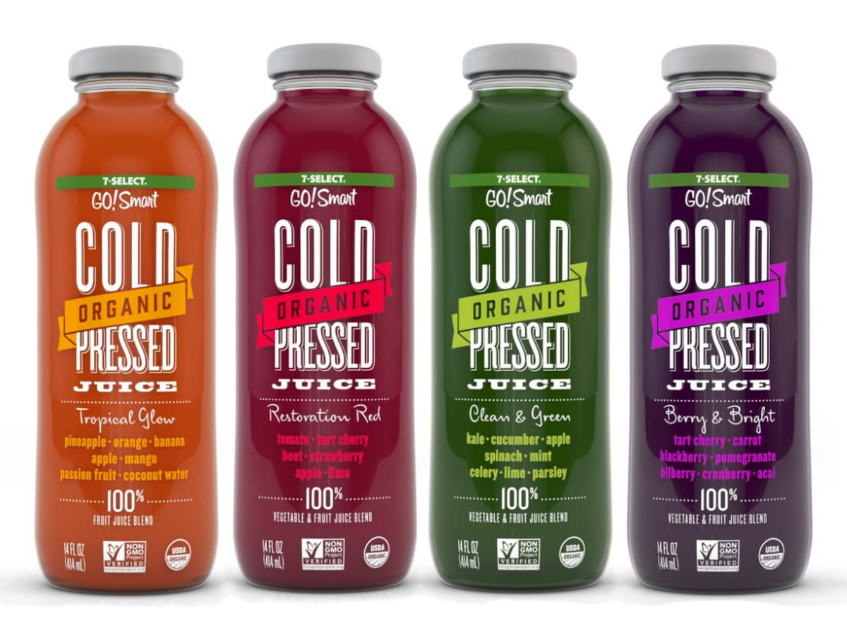 Get A Free 7 Select Organic Cold Pressed Juice Freebiefresh