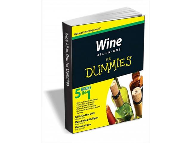 Get A Free Wine For Dummies Book!