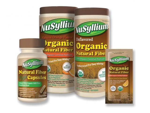 Get A Free NuSyllium Organic Natural Fiber Sample!