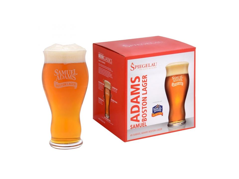 Free Beer Glasses From Samuel Adams