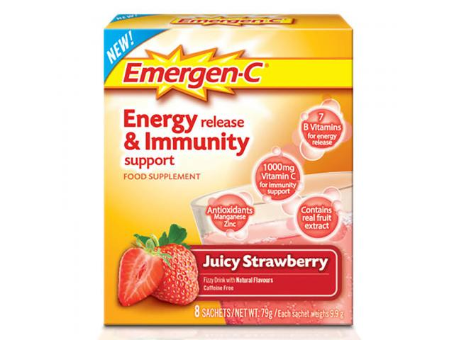Free Vitamin Drink Mix By Emergen-C!