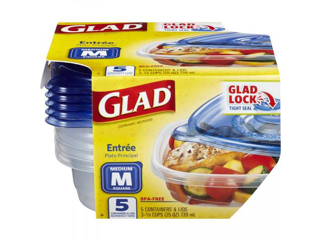 Get Free Glad Food Storage Containers!