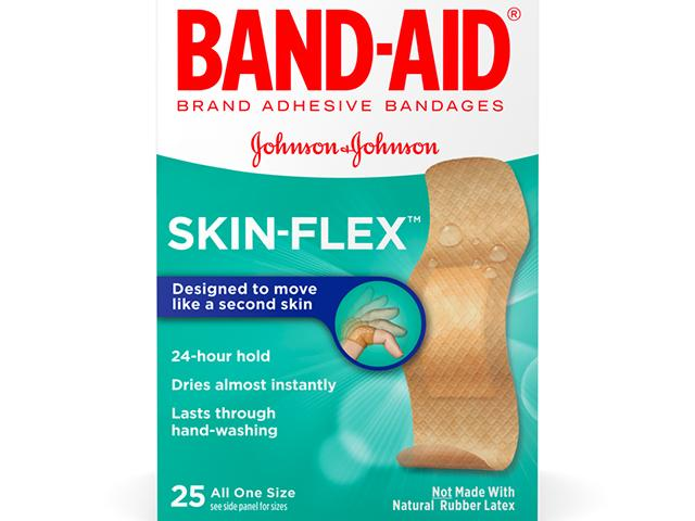Get A Free Box Of Band-Aid Skin Flex Bandages!