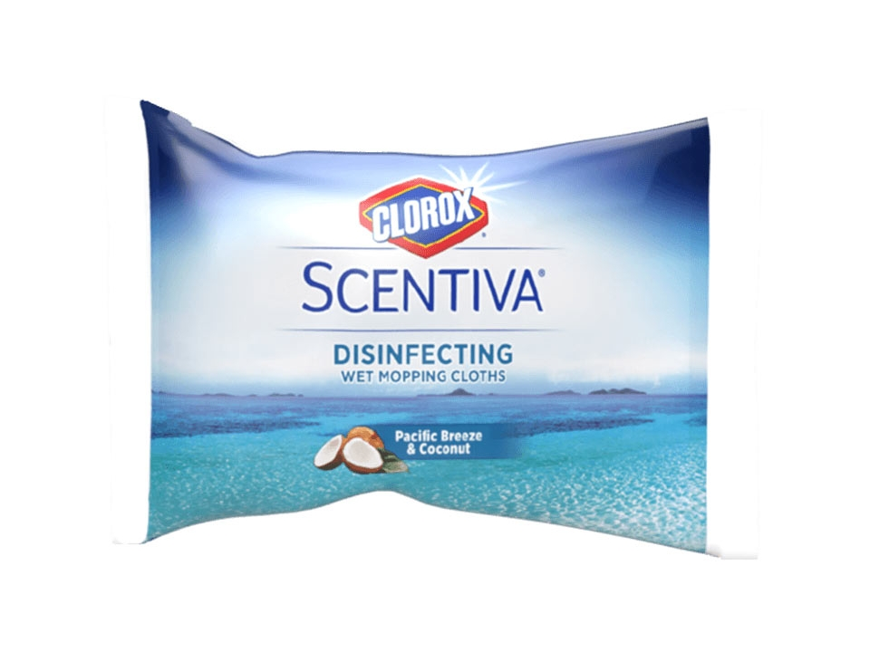 Free Clorox Scentiva Disinfecting Wet Mopping Cloths From Walmart