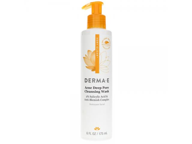 Free DERMA-E Acne Deep Pore Cleansing Wash!
