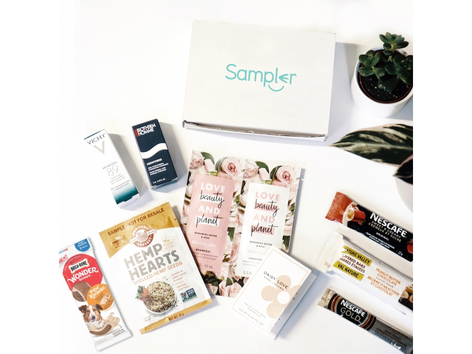 Free SMN Sample Box By Sampler