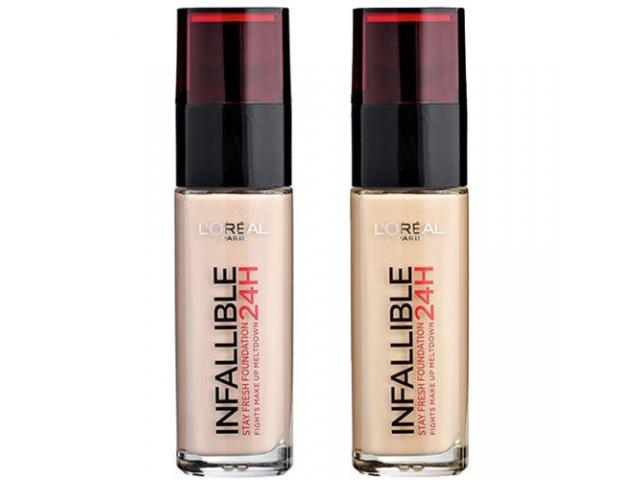 Free L'Oreal 24 Hour Infallible Fresh Wear Foundation!
