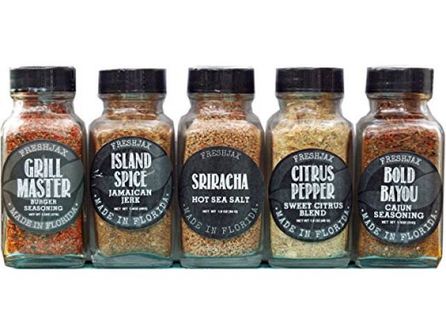 Get A Free Set of 5 FreshJax Gourmet Handcrafted Spices!