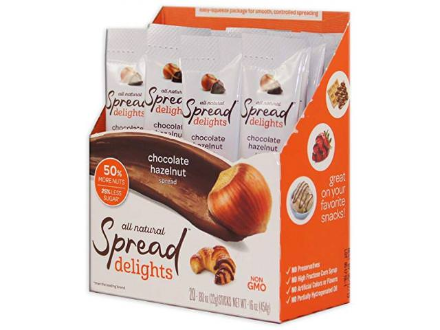 Get A Free Spread Delights Chocolate Hazelnut Spread (20 CT)!
