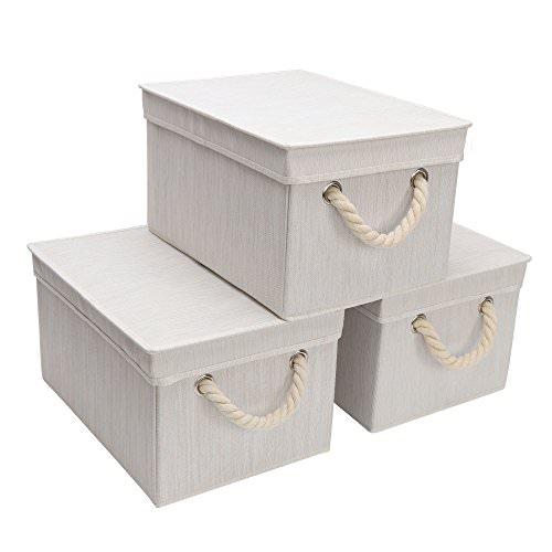 Get 3 Free StorageWorks Polyester Storage Boxes!