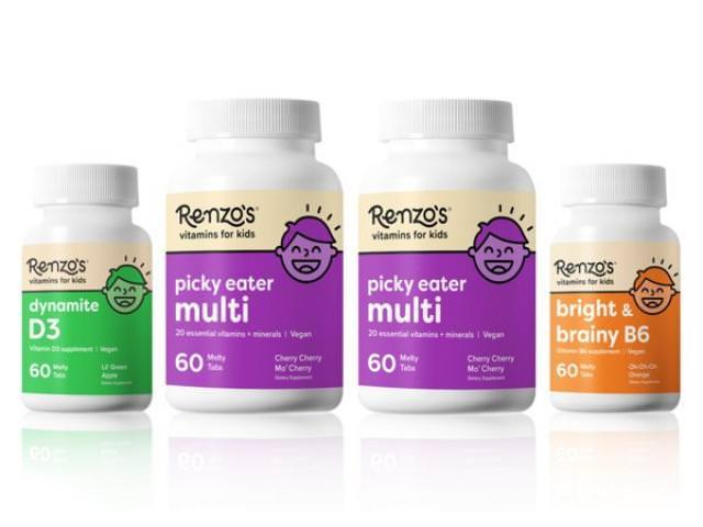 Get A Free Renzo's Kid Vitamin