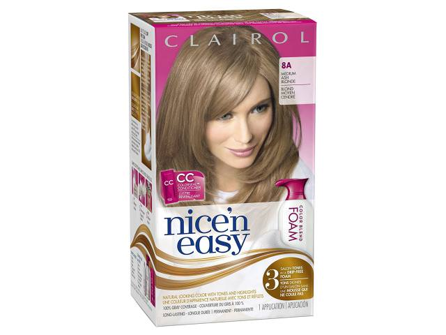 Get A Free Clairol Nice'n Easy Hair Color!