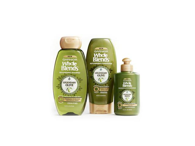 Get A Free Garnier Whole Blenders Legendary Olive Oil Shampoo + Conditioner!