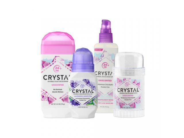 Free Crystal Natural Deodorant!