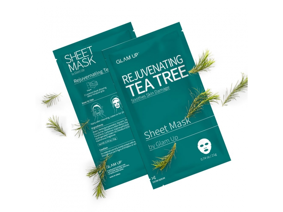Free Tea Tree Sheet Mask From Glam Up