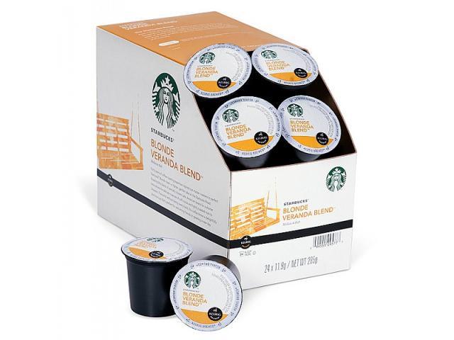 Get Free Starbucks K-Cup Coffee Samples!