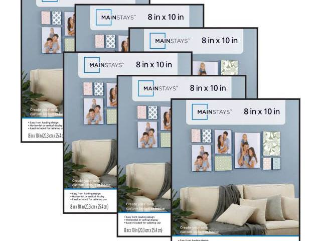 Get A Free Mainstays 8x10 Format Picture Frame, Set of 6!