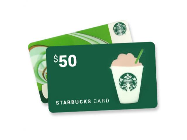 Get Walmart, Starbucks Or Amazon Gift Cards!