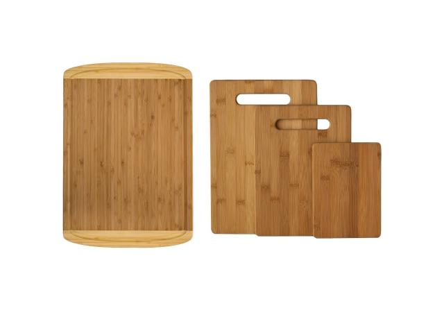 Free Bamboo Cutting Board Set of 4!