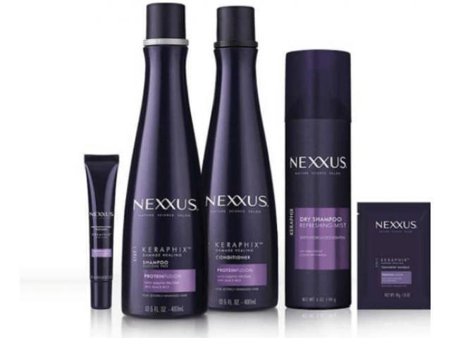 Get A Free Nexxus KERAPHIX Shampoo + Conditioner Sample!