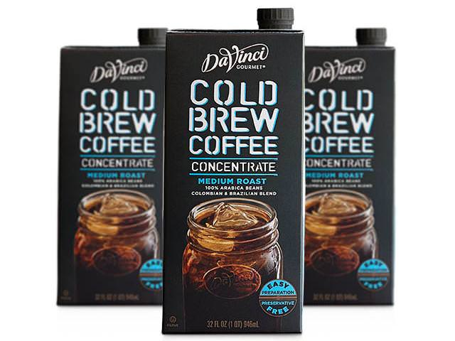 Get A Free DaVinci Gourmet Cold Brew Coffee!