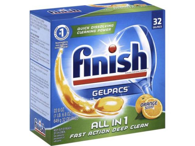 Get A Free Finish All In 1 Dishwasher Detergent Gelpacs 32 Count!