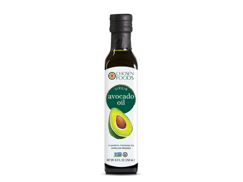 Free 100% Pure Virgin Avocado Oil By Chosen Foods (Full Size)!