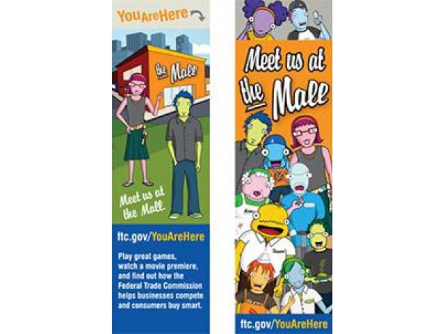 Get A Free You Are Here Bookmark!