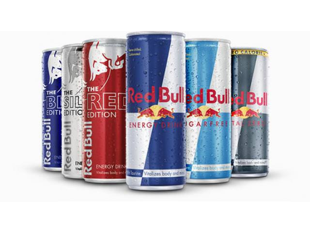 Get A Free Can Of Red Bull!