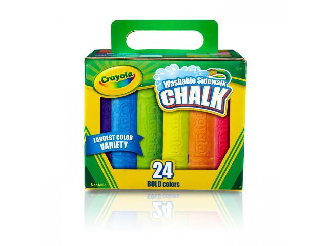 Free Crayola Washable Sidewalk Chalk From Target!