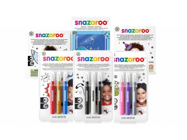 Get A Free Snazaroo Brush Pen Packs, Stencils And More!
