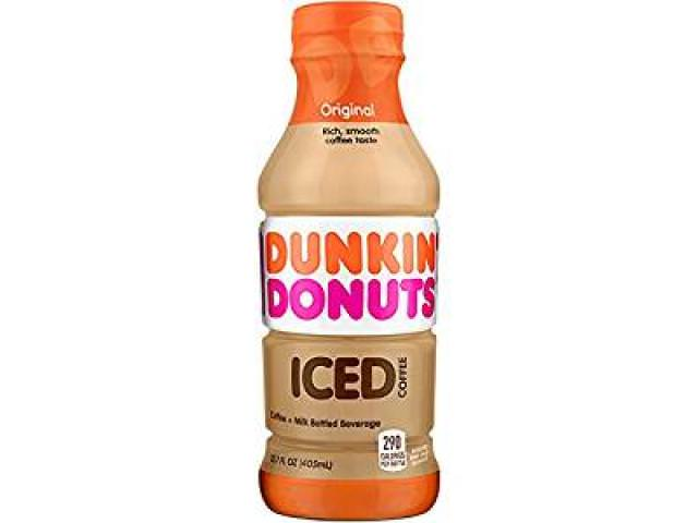 Get A Free Dunkin' Donuts Iced Coffee!
