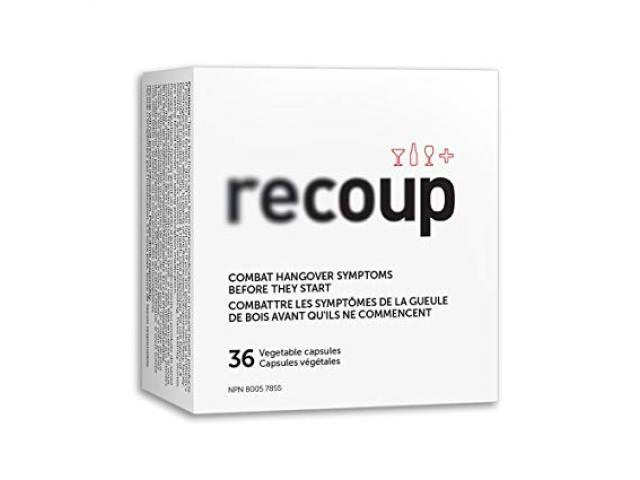 Get A Free Recoup Hangover Remedy!