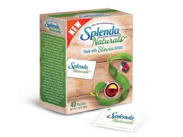 Get A Free Sample of SPLENDA Naturals Stevia Sweetener!