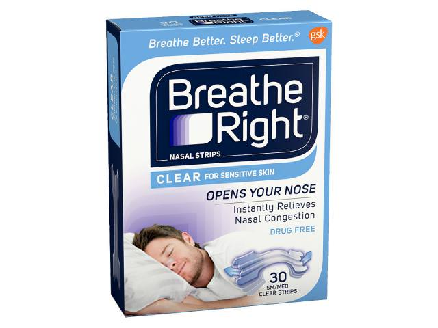 Get A Free Breathe Right Extra Clear Nasal Strips!