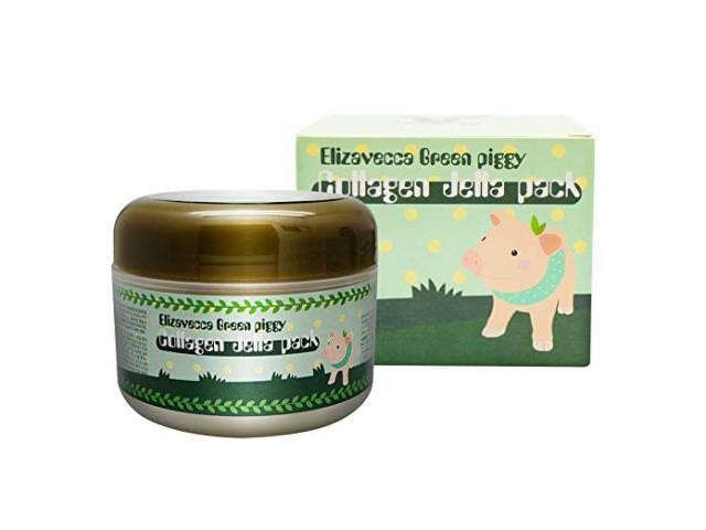 Get A Free Elizavecca Green Piggy Collagen Mask!