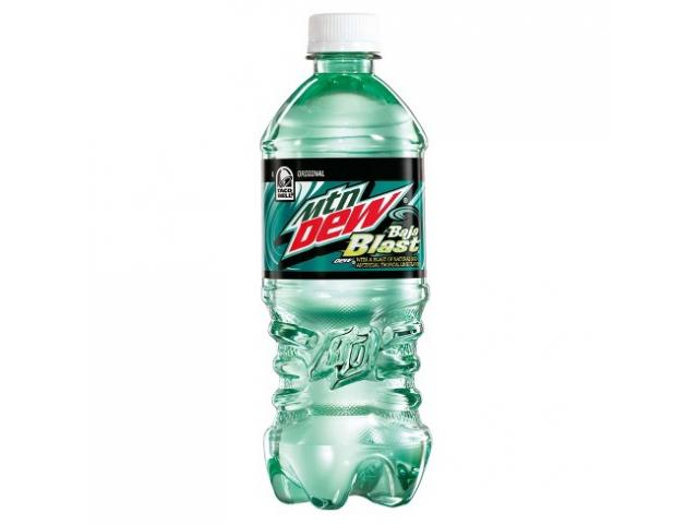 Free Mountain Dew Baja Blast By From!