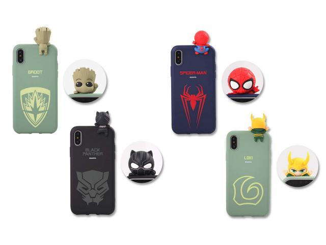 Free Marvel Figure Color Jelly Case!